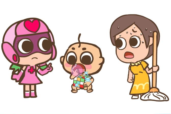 【开心超人】家里有儿童使用消毒产品时,要注意什么?