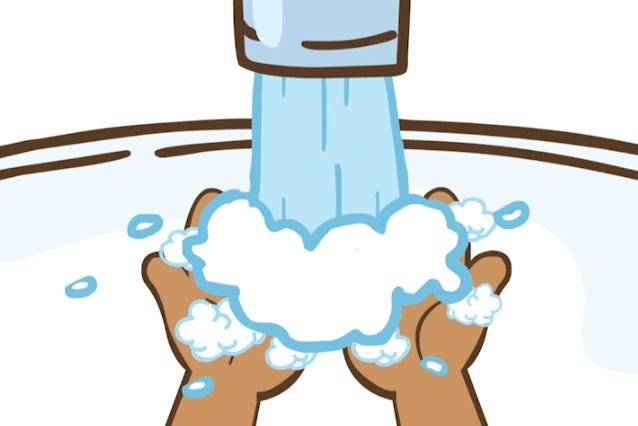 【开心超人】怎样才是正确的洗手方式