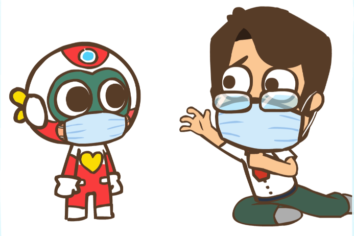 【开心超人】不小心接触了确诊病人,要怎么办?